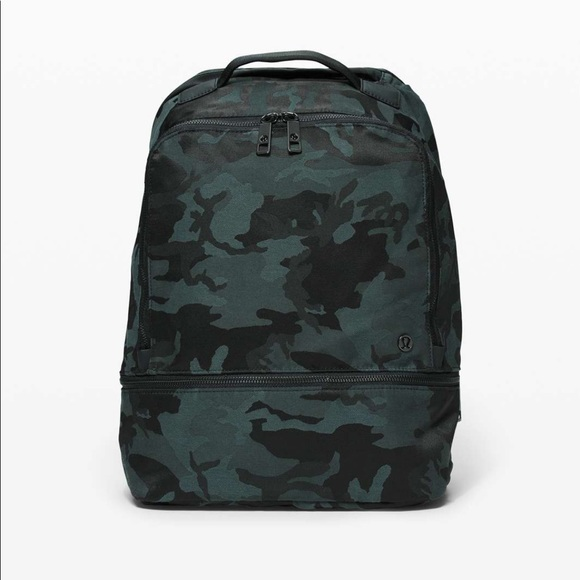 Lululemon City Adventurer Backpack 17L Camo EUC
